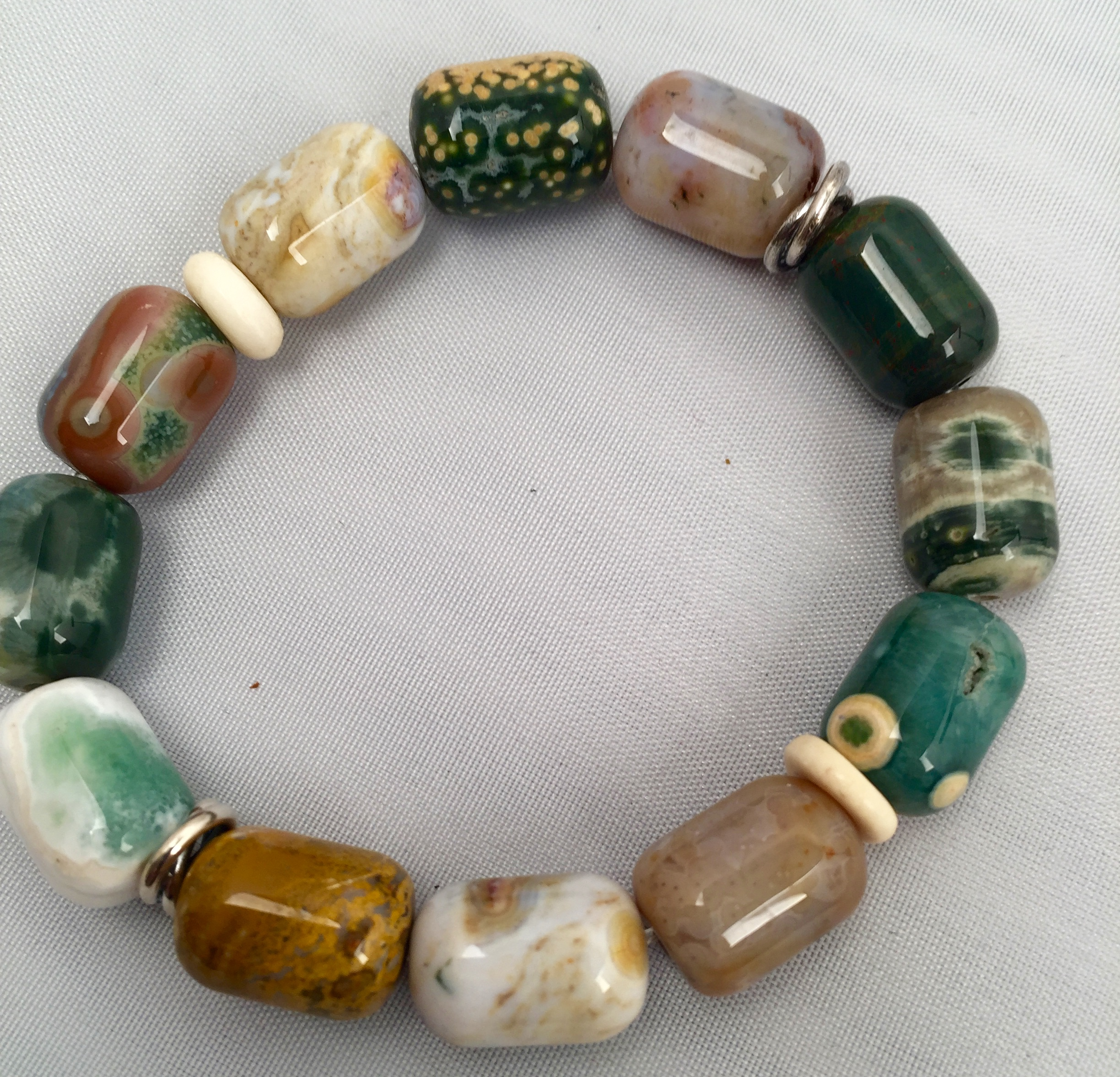 jasper imp mala ocean tree the bracelet